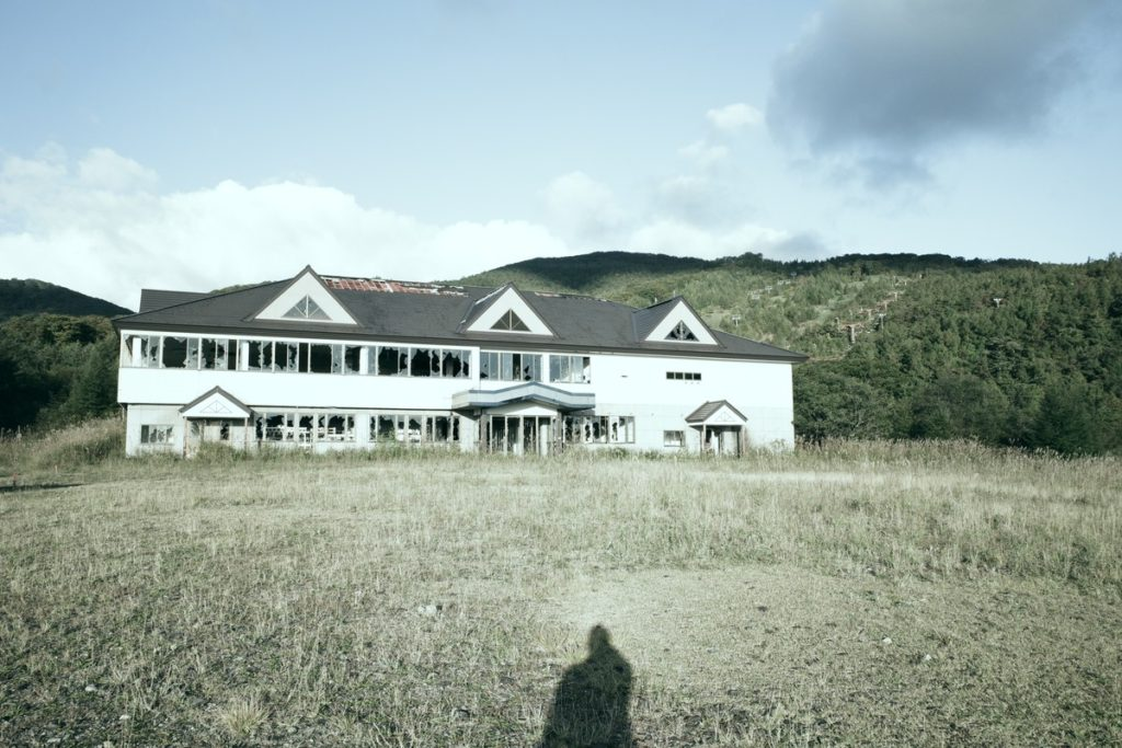白河高原スキー場跡地