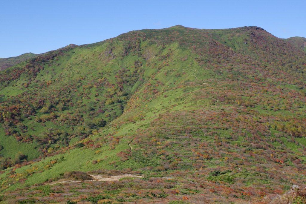 前岳、スダレ山、大岩方面